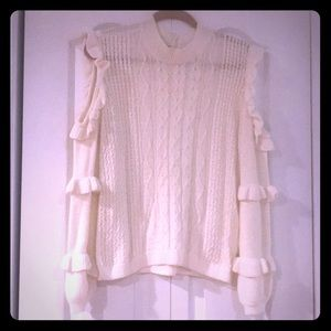 Express Cold Shoulder Sweater NWOT